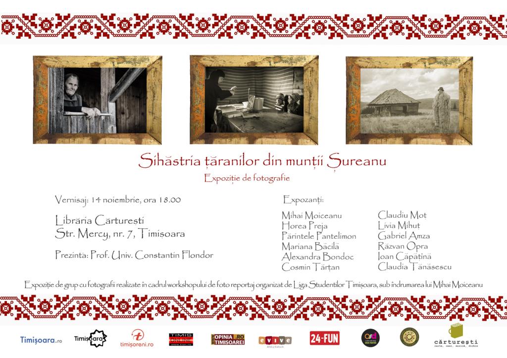 Expozitie foto Sihastria taranilor din muntii Sureanu