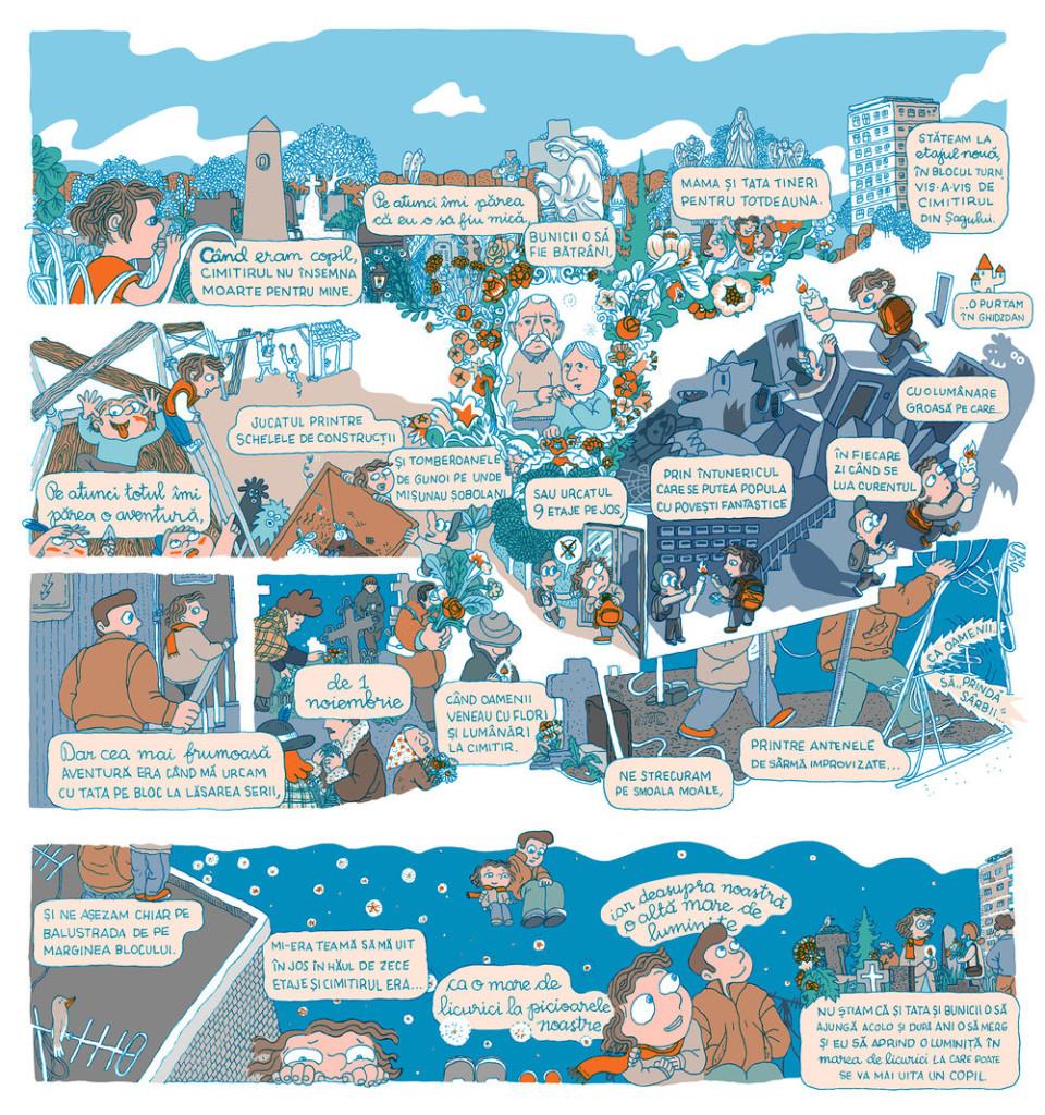 Poveste Clau - Ilustratie de Sorina+Vazelina
